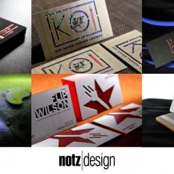 modern business card samples