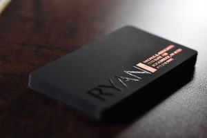 modern business cards samples